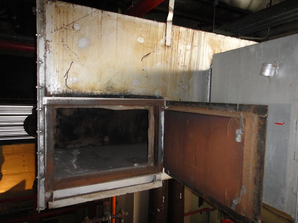 Boiler Breeching Example Of An Industrial Type Boiler