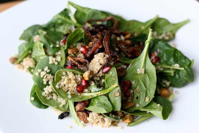 Coconut Quinoa and Spinach Salad | Flickr - Photo Sharing!