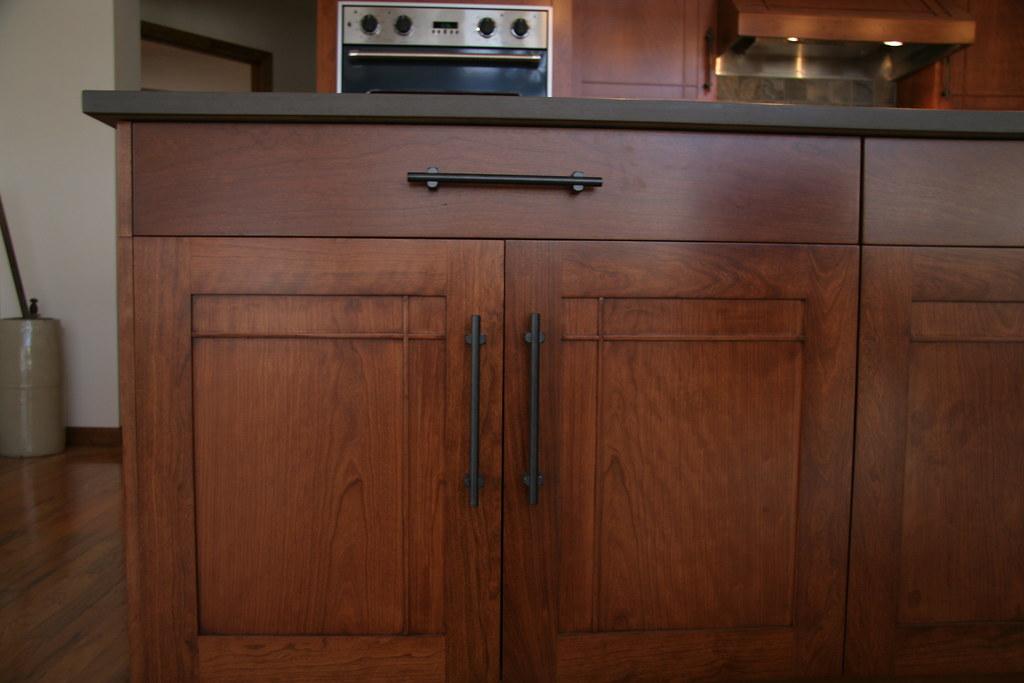 Craftsman Style Cherry Kitchen Typical Stile Amp Rail