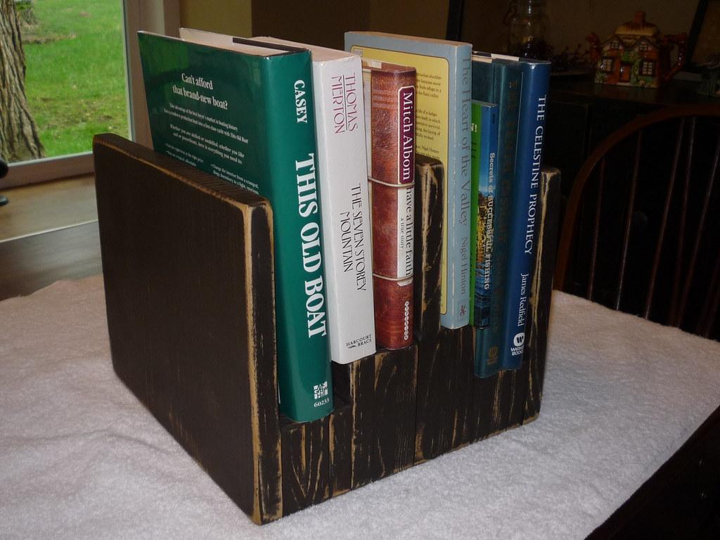 Desk top book Stand Wood Shaper Flickr