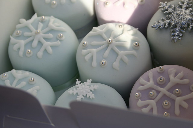 Hand Decorated Mini Rich Fruit Christmas Cakes Flickr