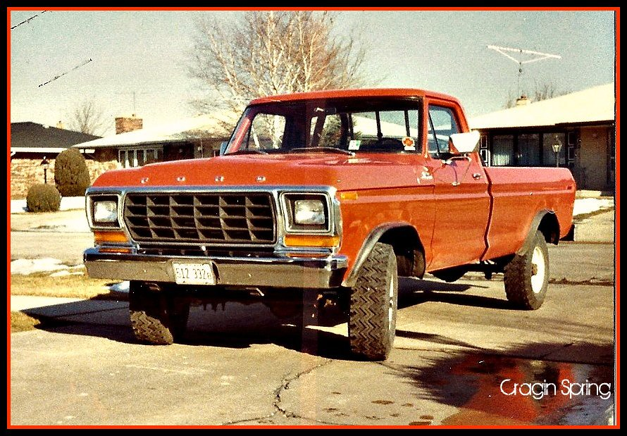 1979 Ford F250 4x4 3