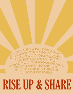 RISE UP & SHARE | by alyceobvious