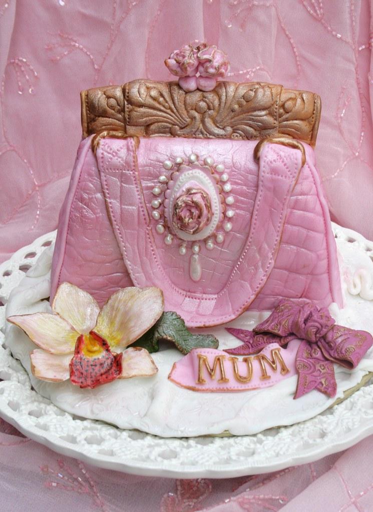 My Mothers birthday cake Anita Flickr