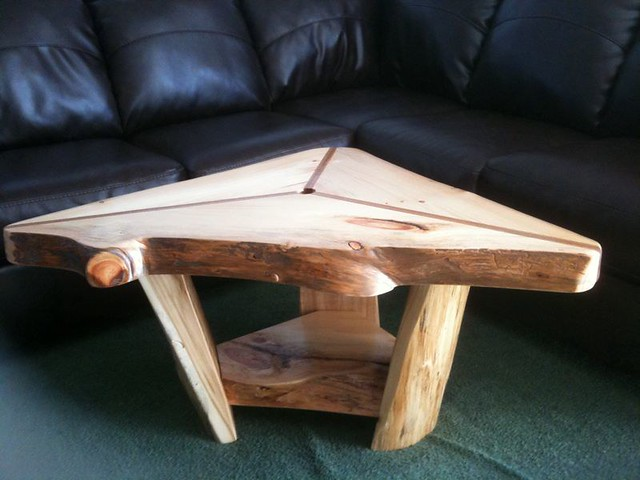 Triangle Rustic Coffee Table Flickr Photo Sharing