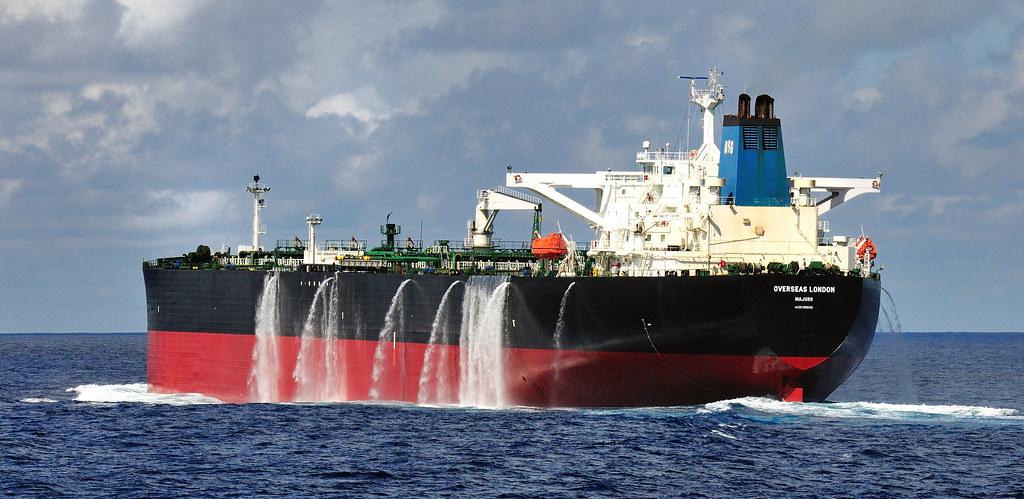 Tanker Overseas London Changing Ballast Jan Berghuis