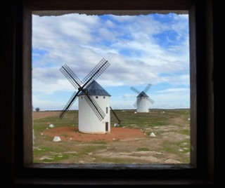 Don Quixote's Window (Windmills in La Mancha, Spain) - La Ventana de Don Quijote (Molinos de Campo de Criptana) | by Sir Francis Canker Photography ©