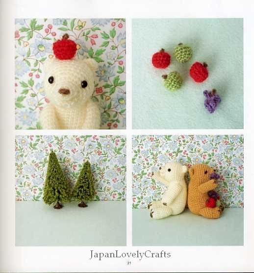 Japanese Amigurumi Blog : WITH AMIGURUMI EVERYDAY - JAPANESE HANDMADE CRAFT BOOK - C ...
