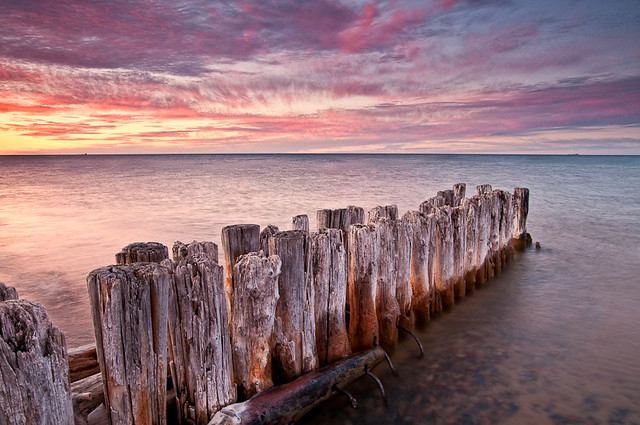 Whitefish point sunset flickr photo sharing for White fish point