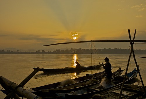 Sunrise at Mekong River | by F Jo