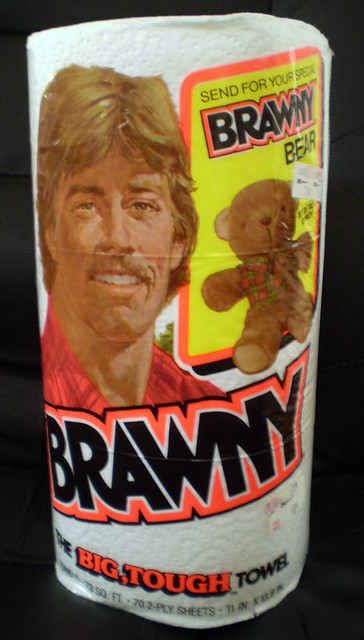 1985 brawny paper towels bear offer flickr photo sharing