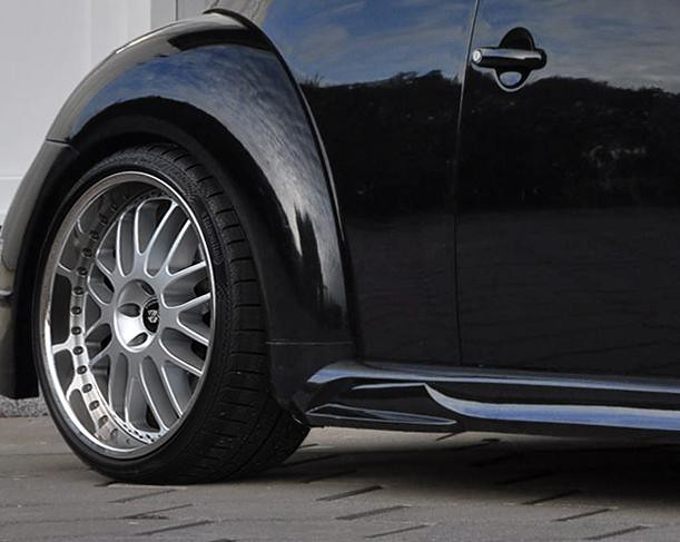 Prior Design VW New Beetle GT3 Side Skirts and Mesh Wheels ... | 611 x 487 jpeg 34kB