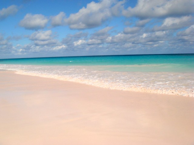 Pink sands beach harbour island bahamas flickr photo for Pink sand beaches bahamas