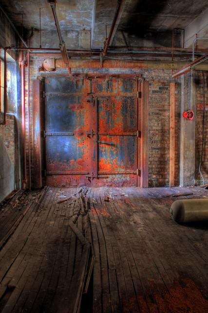Rusted Metal Door Flickr Photo Sharing