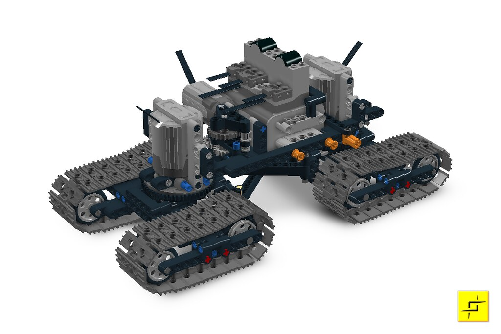 Technology Management Image: The Chassis Of The Indrik, In Digital