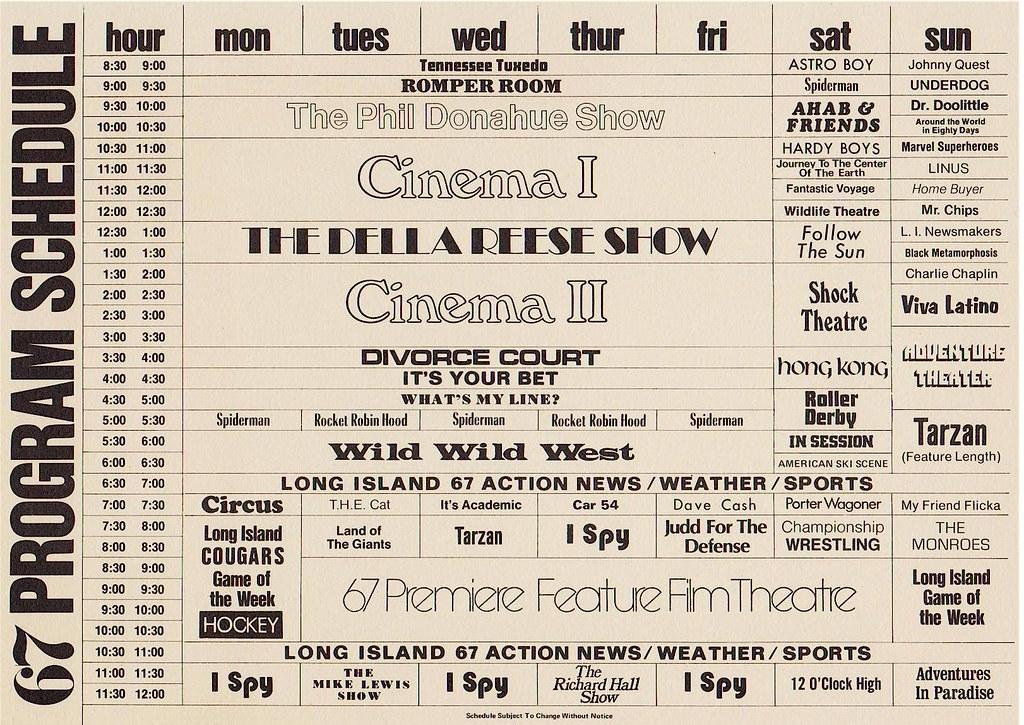 Long Island Schedule Of Eevents