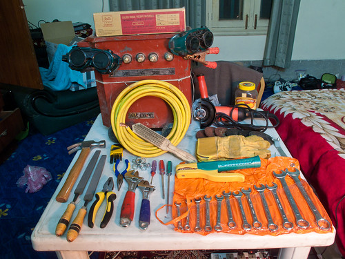 Welder and Other Tools | by LouBu