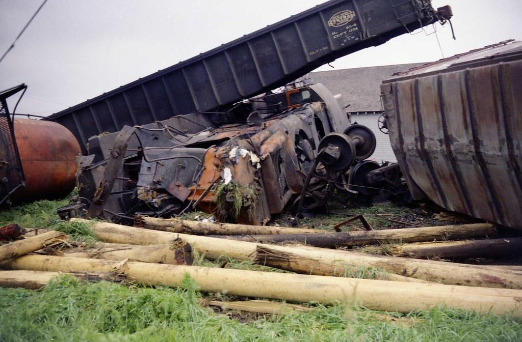 Great Northern Marysville Train Wreck 1969 Marysville