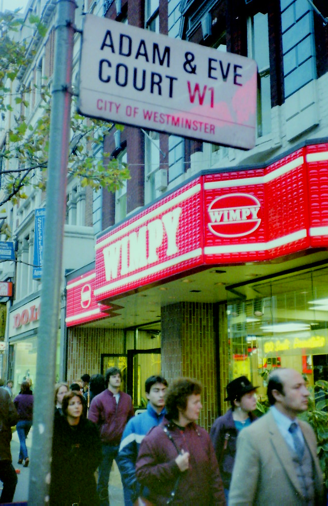 18 Of 19 Wimpy Bar Oxford Street W1 1983 This Photo