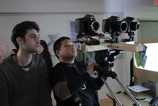 DP, Rommel Genciana, with director | by Hunterfilmmakers