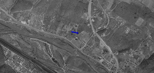 Allegheny Drive-In aerial photo 1966 | by ozoner68
