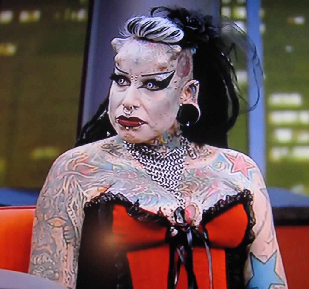 Tattoo Lady 1 James Devine Flickr