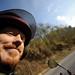 Happy Tyler on a Motorbike