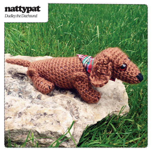 Dudley the Dachshund Crochet Pattern With dust on his ...