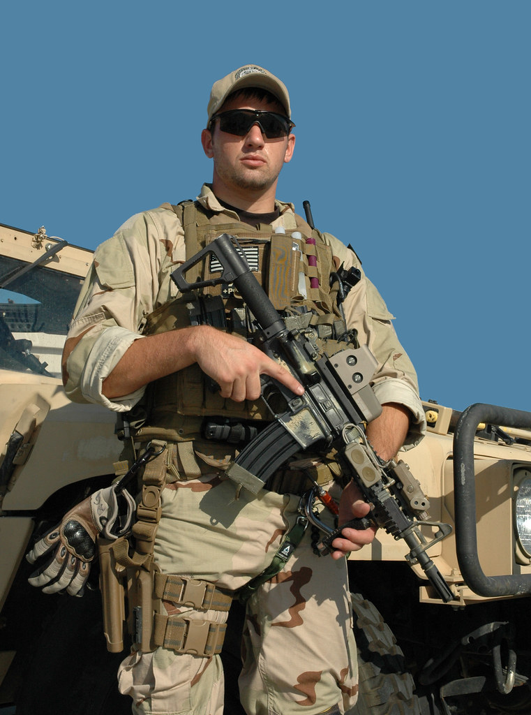 Us Air Force Combat Controller With M4 Cqb Carbine Flickr