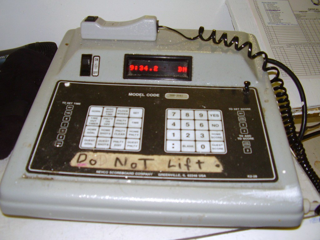 Scoreboard Controller Scoreboard Controller With