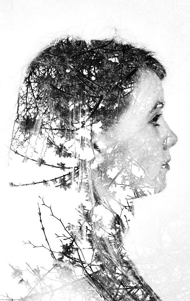 Photoshop double exposure | 1st attempt at making a double ...