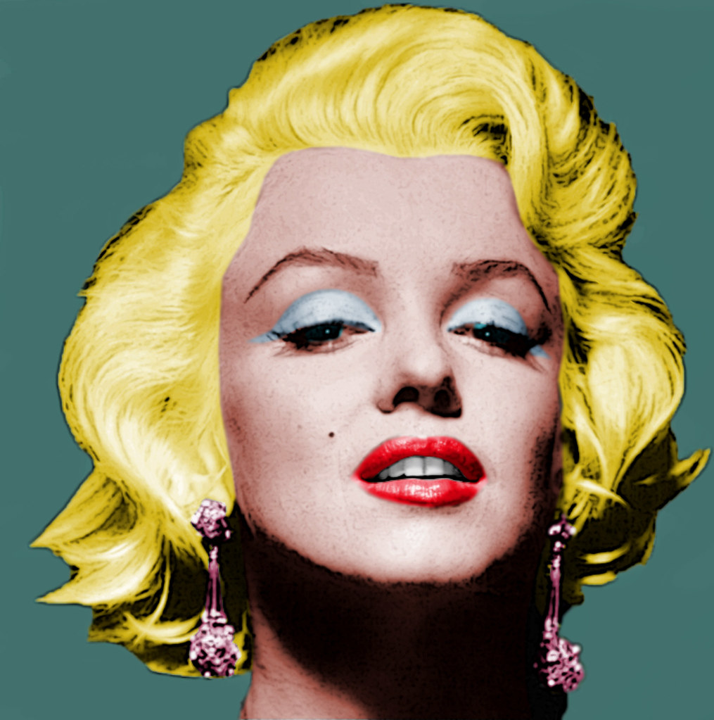 Marilyn Monroe | My Version of the 1960s Andy Warhol ...