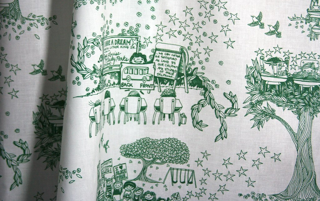 fabric of the week winner civil rights toile de jouy flickr. Black Bedroom Furniture Sets. Home Design Ideas