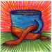 I drew you a mug of coffee with a scarf