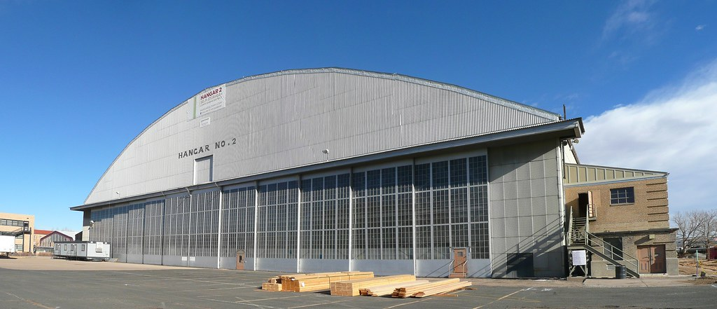 Denver Co Old Lowry Afb Hangar This Former World War