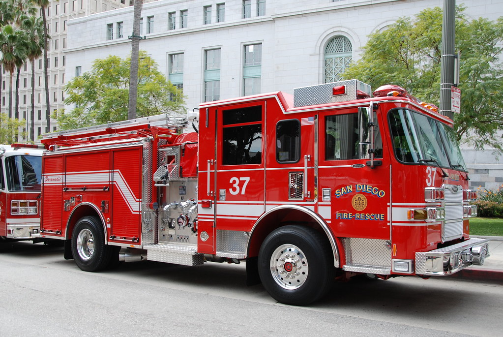 Cal Fire Map >> SAN DIEGO FIRE DEPARTMENT (SDFD) ENGINE 37 | SDFD Engine 37,… | Flickr