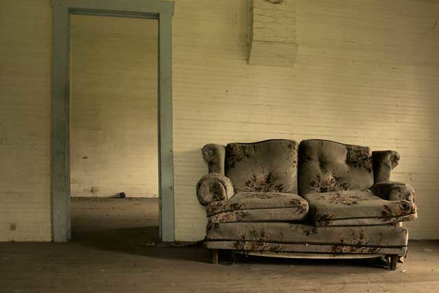 Abandoned House (Interior #1), State Road 62 | Eric