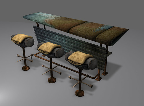 Wing Bar and Tire Stools | by Sandusky Kayvon