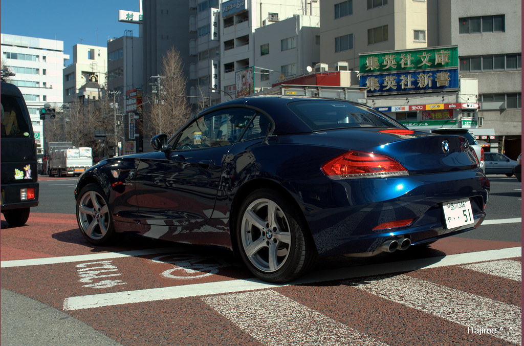 Bmw Z6 In Downtown Jimbocho Derek Preston Flickr