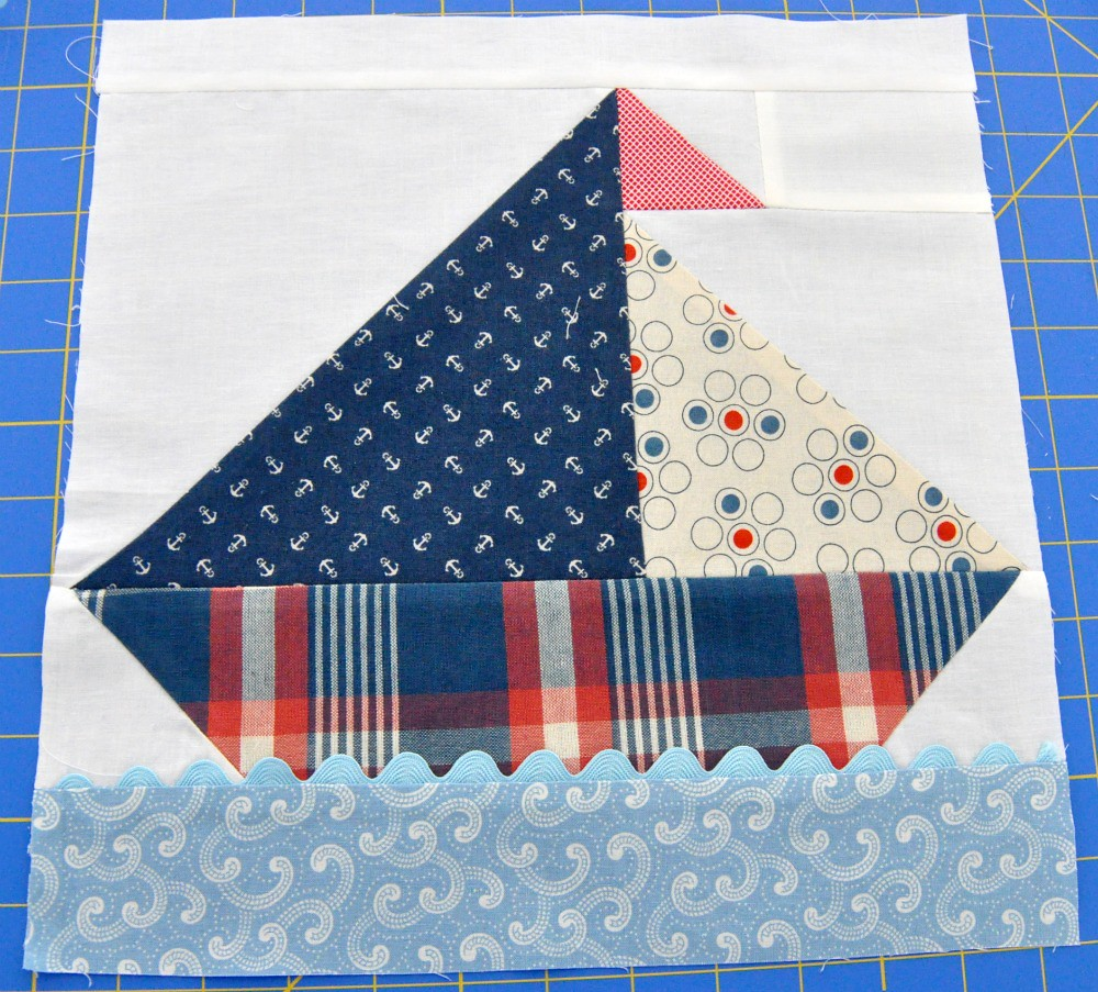 Sailboat Quilt Block 1 Here S Block 1 Of A Throw Size