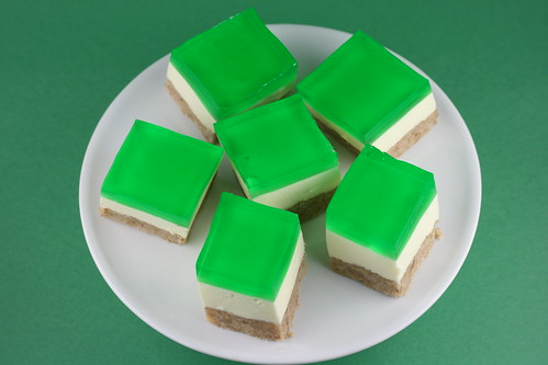 St Patrick Jello Cream Cake | by Food Librarian