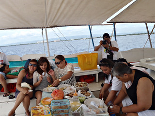 Eating Time inside the Boat! :D | by Karla Mae Brazil