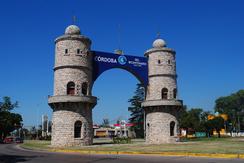 Arco de c rdoba c rdoba capital argentina ubicaci n for Jardines en cordoba capital