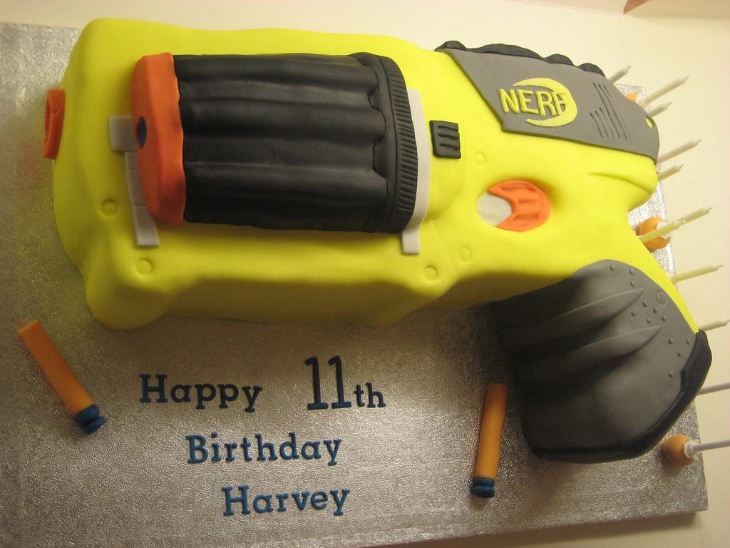 Nerf Gun Cake Pan