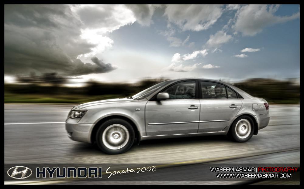 HYUNDAI Sonata 2008   Tracking Shot   I was my dear ...
