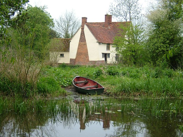 Willy Lott S Cottage As Painted In The Hay Wain Flickr