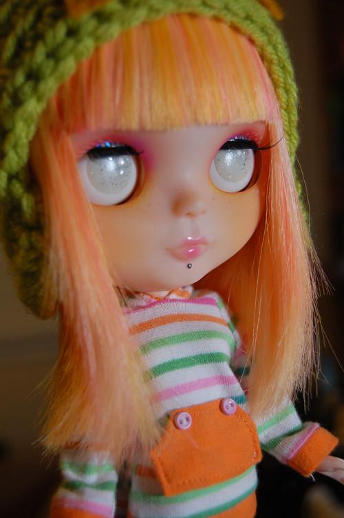 Disco ♥ (adopted) | I made her some handmade resin eye ...