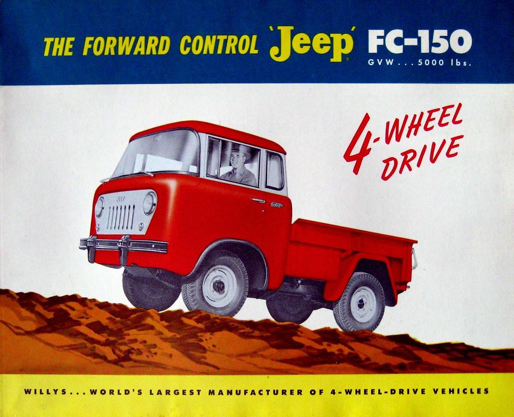 Jeep Fc 150 >> Willys Forward Control Jeep FC-150 Ad   lee.ekstrom   Flickr