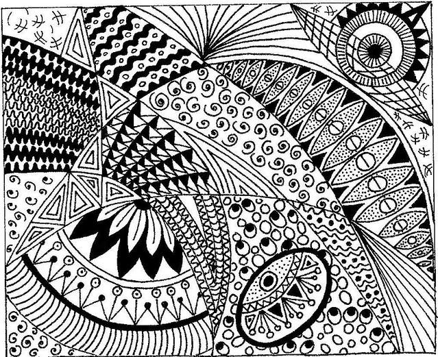 Zentangle Zentangle Inspired Art Flickr Photo Sharing