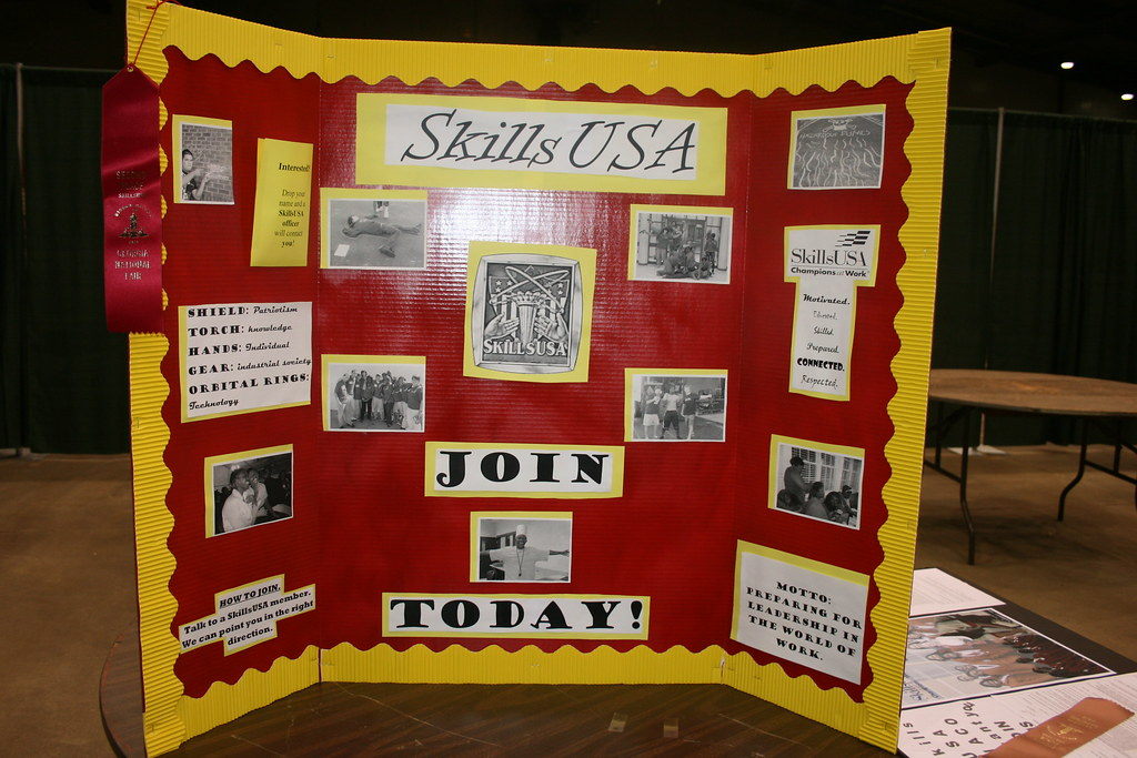 Chapter Recruitment Display 2nd | SkillsUSA Georgia | Flickr